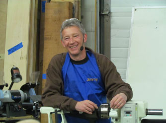 Jimmy Clewes Master Woodturner