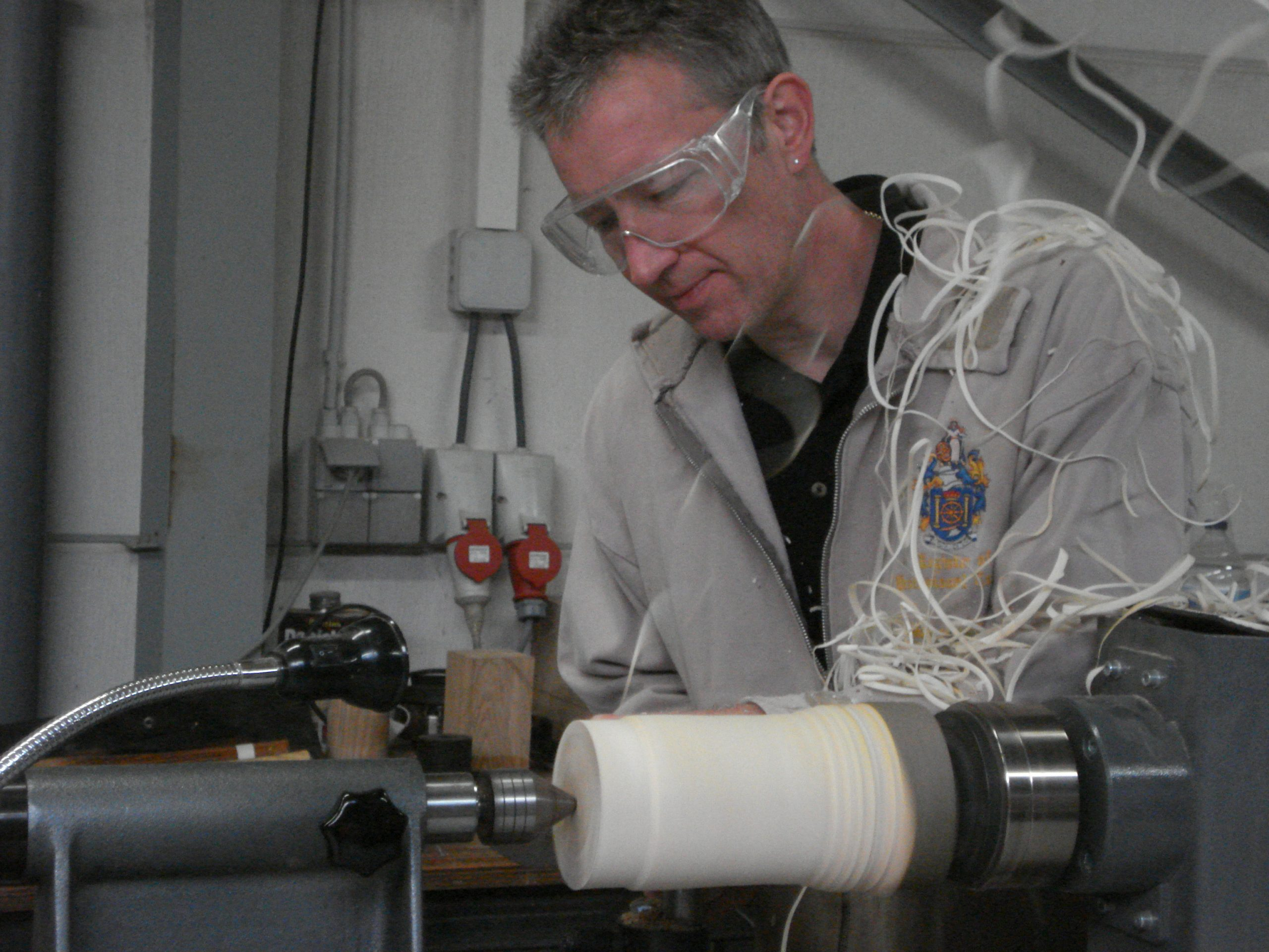 Jimmy Clewes Woodturning Instruction