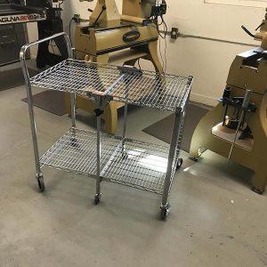 Jimmy Clewes Workshop Trolley / Cart for Woodturning Workshop