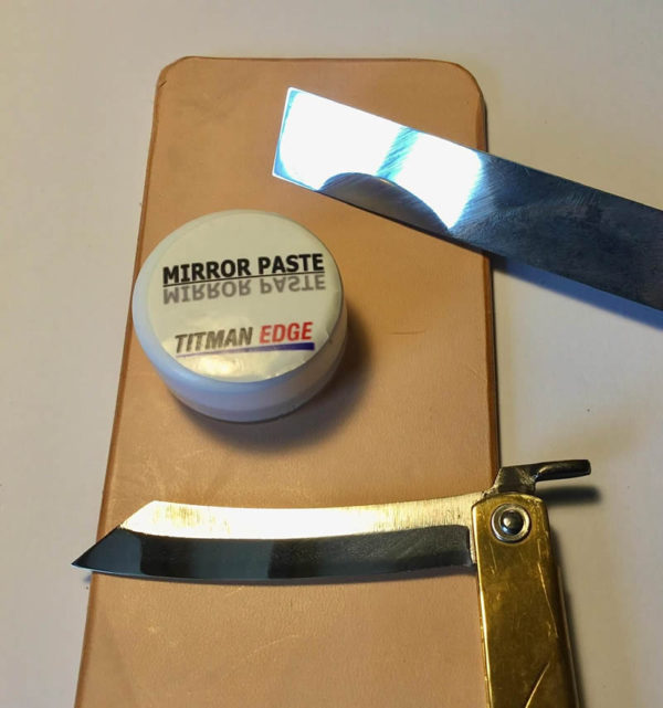 Mirror Paste for Woodturning